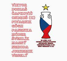 Czechoslovakia Euro 1976 Winners Unisex T-Shirt