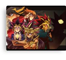 Yu-Gi-Oh! Canvas Print