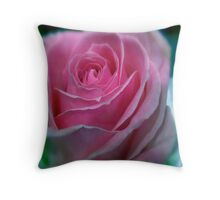 BUBBLEGUM PINK ROSE Throw Pillow