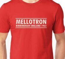 Mellotron Birmingham England 1963 Unisex T-Shirt