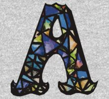 Letter A Kids Tee