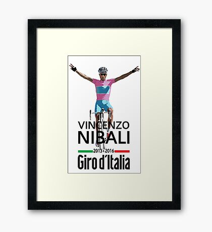 Vincenzo 2016 Clear Framed Print