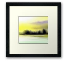 The Sunset View Framed Print