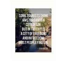 tfios quote 1 Art Print