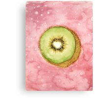 FRUIT Series: Kiwi Canvas Print