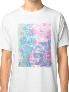 Floral Grunge Classic T-Shirt