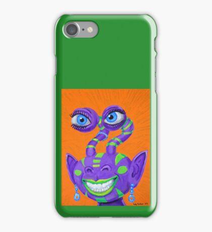 Tribal Sclera Irisanian Portrait iPhone Case/Skin