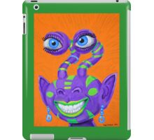 Tribal Sclera Irisanian Portrait iPad Case/Skin