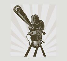 Vintage Movie Camera Unisex T-Shirt
