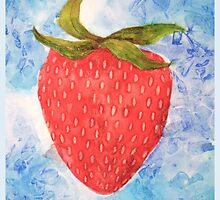 FRUIT series: Strawberry by Avé Renée