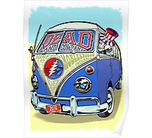 DEAD & COMPANY SUMMER TOUR 2016 NOBLESVILLE INDIANA Poster