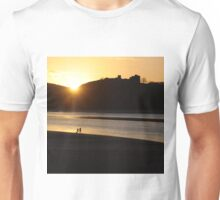 At play in the last rays Unisex T-Shirt