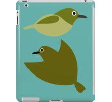 Little birds - design of nature iPad Case/Skin