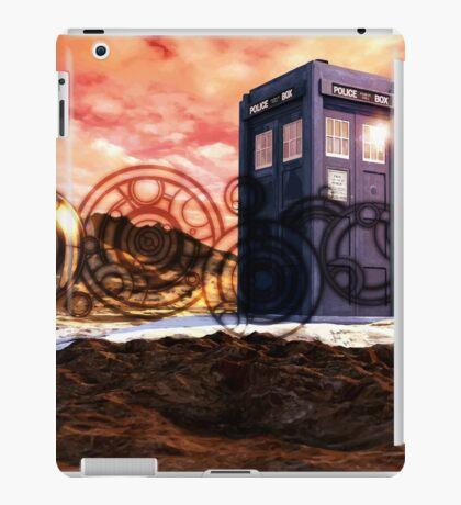 Doctor Who - Tardis, Gallifrey and Doctor's Name iPad Case/Skin