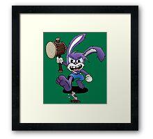 Wacky Wabbit Framed Print