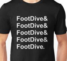 Foot Dive Unisex T-Shirt