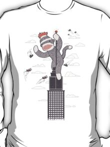 Sock Monkey Just Wants a Friend T-Shirt