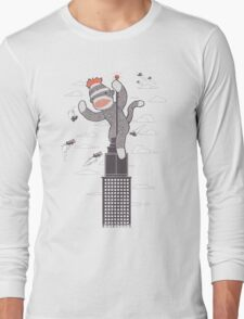 Sock Monkey Just Wants a Friend Long Sleeve T-Shirt