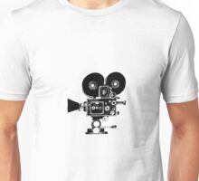 Old Movie Camera vers. 2 Unisex T-Shirt