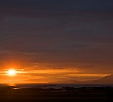 A Hebridean Sunset by Jamie  Green