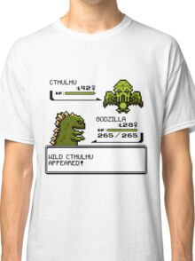 Wild CTHULHU Appears!  Classic T-Shirt