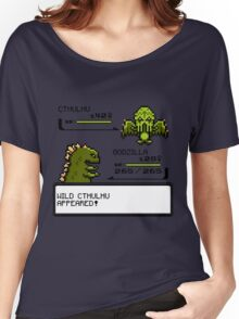 Wild CTHULHU Appears!  Women's Relaxed Fit T-Shirt