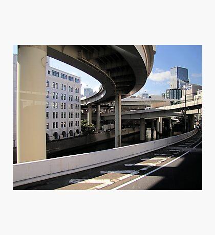 city way (Tokyo) Photographic Print