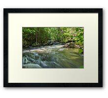 Blakeney Falls Framed Print