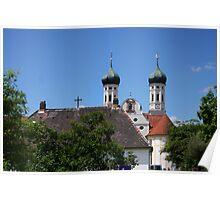 Benedictine Monastery Benediktbeuren Poster