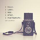 Vintage Camera  by Maren Misner