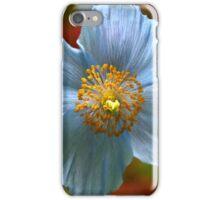 Blue Poppy iPhone Case/Skin