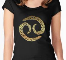 Cancer Celtic Women's Fitted Scoop T-Shirt