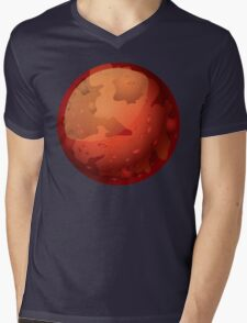 Mars Mens V-Neck T-Shirt