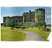 Carew Castle Poster