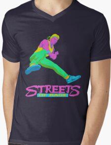 Neo Streets of Rage  Mens V-Neck T-Shirt