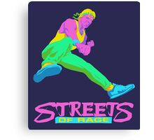 Neo Streets of Rage  Canvas Print