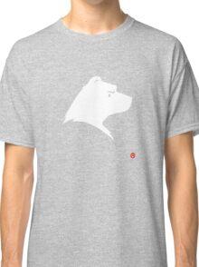 Polar Bear Silhouette Portrait Classic T-Shirt