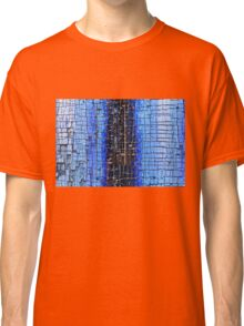 Cracked Grunge Texture Background Classic T-Shirt