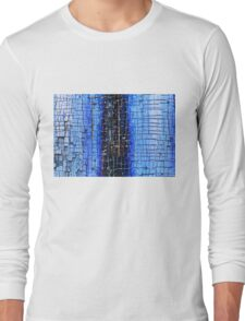 Cracked Grunge Texture Background Long Sleeve T-Shirt