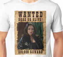 Buffy Faith Wanted Eliza Dushku Unisex T-Shirt