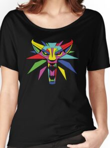 The Witcher (RAINBOW) Women's Relaxed Fit T-Shirt