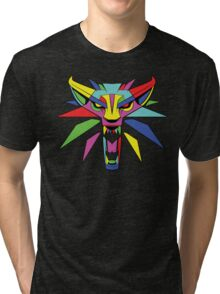 The Witcher (RAINBOW) Tri-blend T-Shirt