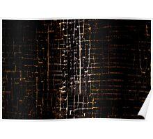 Cracked Grunge Texture Poster