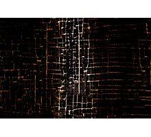 Cracked Grunge Texture Photographic Print