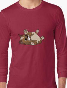 Content kitten Long Sleeve T-Shirt