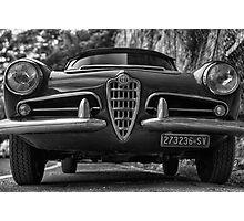 Alfa romeo spider 1963 Photographic Print