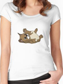 Content kitten Women's Fitted Scoop T-Shirt