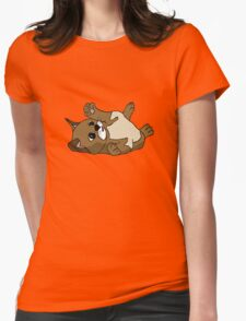 Content kitten Womens Fitted T-Shirt