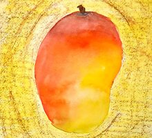 FRUIT series: Mango by Avé Renée
