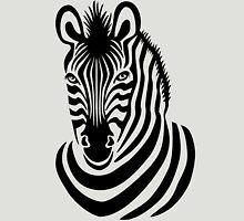 Smiling Zebra Unisex T-Shirt